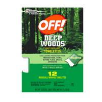 OFF! Deep Woods Insect Repellent Towelettes from Blain's Farm and Fleet