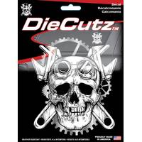 Chroma Steampunk Skull Die Cutz Decal from Blain's Farm and Fleet
