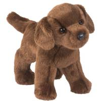 Douglas Cuddle Toys Tucker Chocolate Lab from Blain's Farm and Fleet