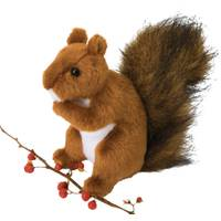 Douglas Cuddle Toys Roadie Red Squirrel from Blain's Farm and Fleet