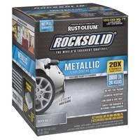 Rocksolid Silver Metallic Floor Coating Kit from Blain's Farm and Fleet