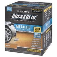 Rocksolid Amaretto Metallic Floor Coating Kit from Blain's Farm and Fleet
