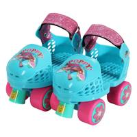 Playwheels Trolls Kids Roller Skates & Knee Pads from Blain's Farm and Fleet