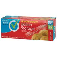 Simply Done Double Zipper Gallon Storage Bags from Blain's Farm and Fleet