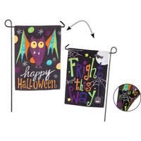 Evergreen Enterprises Halloween Bat, Fright This Way Garden Suede Flag from Blain's Farm and Fleet