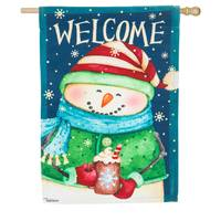 Evergreen Enterprises Snow Country House Suede Flag from Blain's Farm and Fleet
