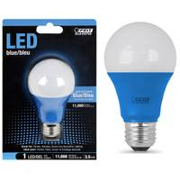FEIT Electric 35W Non-Dimmable LED A19bulb, E26 Base, Blue from Blain's Farm and Fleet