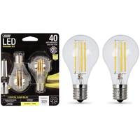 FEIT Electric 45W/40W LED A15 Light Bulb, E17, 2700K, 2-Pack from Blain's Farm and Fleet