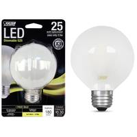 FEIT Electric 25W/25W LED G25 Light Bulb, E26 Base, Frost from Blain's Farm and Fleet