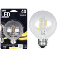 FEIT Electric 45W/40W LED G25 Light Bulb, E26 Base, 2700K from Blain's Farm and Fleet