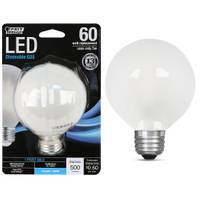 FEIT Electric 5W/60W LED G25 Light Bulb, E26, 5000K, Frost from Blain's Farm and Fleet