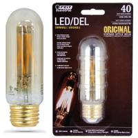 FEIT Electric 4W/40W Vintage LED T10 Light Bulb, E26 Base from Blain's Farm and Fleet