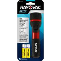 Rayovac Brite Essentials Durable Rubber & Aluminum LED Flashlight from Blain's Farm and Fleet