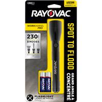 Rayovac Workhorse Pro Spot to Flood Flashlight from Blain's Farm and Fleet