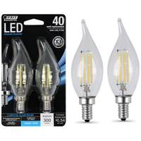 FEIT Electric Chandelier Flame Tip LED Light Bulb from Blain's Farm and Fleet