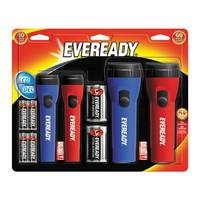 Eveready LED Flashlights - 4 Pack from Blain's Farm and Fleet