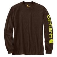 Carhartt Men's Signature Sleeve Logo T-Shirt from Blain's Farm and Fleet