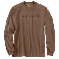 Carhartt Men's Long Sleeve Logo T-Shirt from Blain's Farm and Fleet
