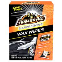 Armor All Ultra Shine Wax Wipes from Blain's Farm and Fleet