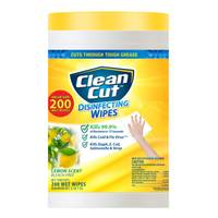 Clean Cut 200-ct Lemon Scent Disinfectant Wipes from Blain's Farm and Fleet