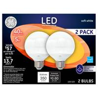 GE G25 Globe Light Bulb from Blain's Farm and Fleet