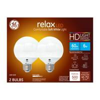 GE Dimmable Globe LED Bulb from Blain's Farm and Fleet