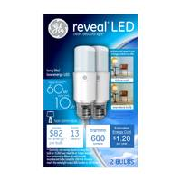 GE Reveal LED Bright Stik Bulb - 2 Pack from Blain's Farm and Fleet