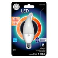 GE Dimmable LED Chandelier Bulb from Blain's Farm and Fleet