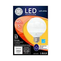 GE Decorative Globe LED Bulb from Blain's Farm and Fleet