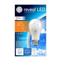 GE Reveal Dimmable LED A19 Light Bulb from Blain's Farm and Fleet