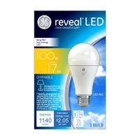 GE Reveal Dimmable LED A21 Light Bulb from Blain's Farm and Fleet