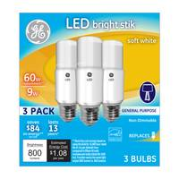 GE LED Bright Stik General Purpose Bulbs from Blain's Farm and Fleet