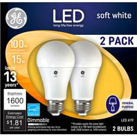 GE Dimmable LED A21 Bulb from Blain's Farm and Fleet