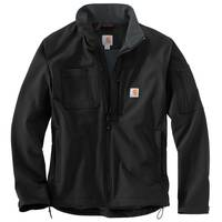 Carhartt Men's Black Rough Cut Rain Defender Jacket from Blain's Farm and Fleet