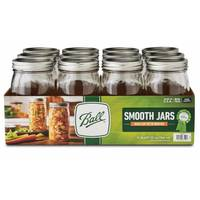 Ball Smooth-Sided Wide Mouth Quart Mason Jars from Blain's Farm and Fleet
