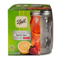 Ball Elite Regular Mouth Spiral 16 oz Canning Jars from Blain's Farm and Fleet