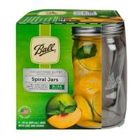 Ball Elite Wide Mouth Spiral 28 oz Canning Jars from Blain's Farm and Fleet