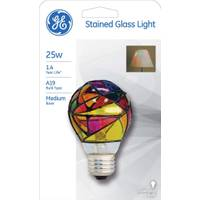 GE Stained Glass Bulb from Blain's Farm and Fleet