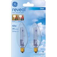 GE Reveal Blunt Tip Decorative Bulb from Blain's Farm and Fleet