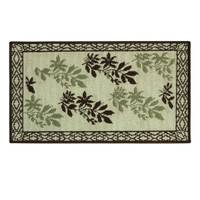 Bacova Hickory Border Rug from Blain's Farm and Fleet