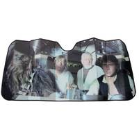 Plasticolor Star Wars Millennium Falcon Accordion Sun Shade from Blain's Farm and Fleet