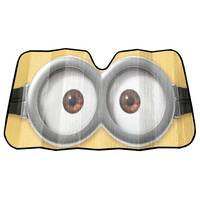 Plasticolor Universal Minions Eyes Accordion Sunshade from Blain's Farm and Fleet