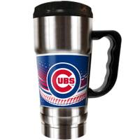 Great American Products Chicago Cubs Champ Travel Tumbler from Blain's Farm and Fleet