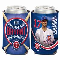 WinCraft Chicago Cubs #17 Kris Bryant Can Cooler from Blain's Farm and Fleet