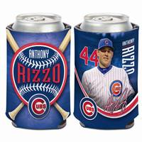 WinCraft Chicago Cubs #44 Anthony Rizzo Can Cooler from Blain's Farm and Fleet