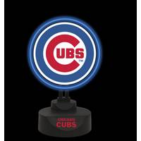 The Memory Company Chicago Cubs Team Logo Neon Lamp from Blain's Farm and Fleet