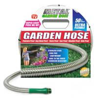 As Seen On TV 50' Metal Garden Hose from Blain's Farm and Fleet