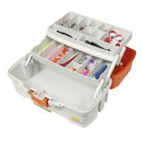 Plano Ready-Set-Fish 2-Tray Box from Blain's Farm and Fleet