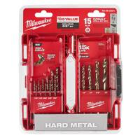 Milwaukee 15-Piece Cobalt Red Helix Kit from Blain's Farm and Fleet