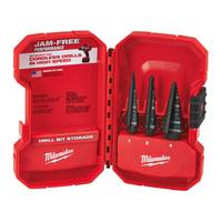 Milwaukee Step Bit 3-Piece Set from Blain's Farm and Fleet